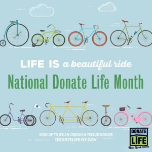 2019 National Donate Life Month